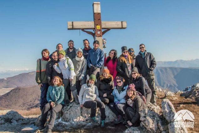 Escursione di gruppo sul Monte Autore