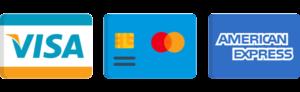 loghi carte di credito accettate