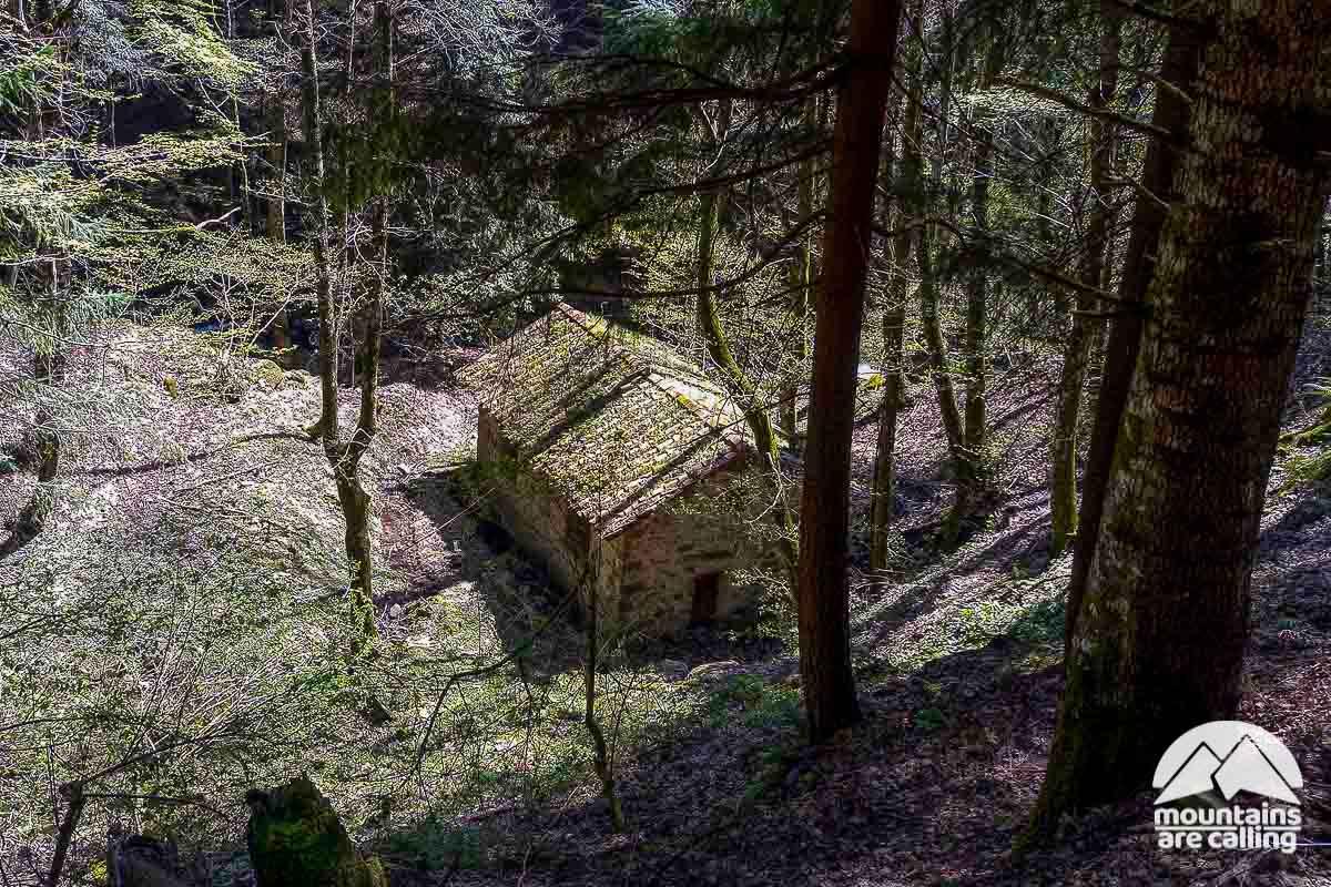 Antico mulino nel fosso di Camaldoli