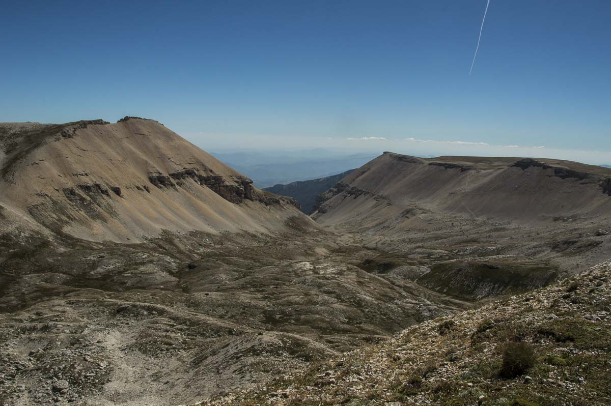 Panorama roccioso sulle principali vette della Majella