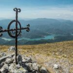 Immagine del Lago del Salto dalla cresta del Monte La Serra