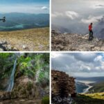 Mix di foto naturalistiche, Monte la serra, Aurunci, Valle delle Cascate, Lago di Corbara