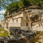 Eremo di Santo Spirito nel Parco della Majella in Abruzzo