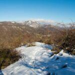 Vista sul Pizzo Pellecchia dal Monte Follettoso