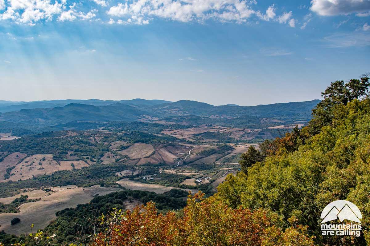 Immagine della Valle del Mignone
